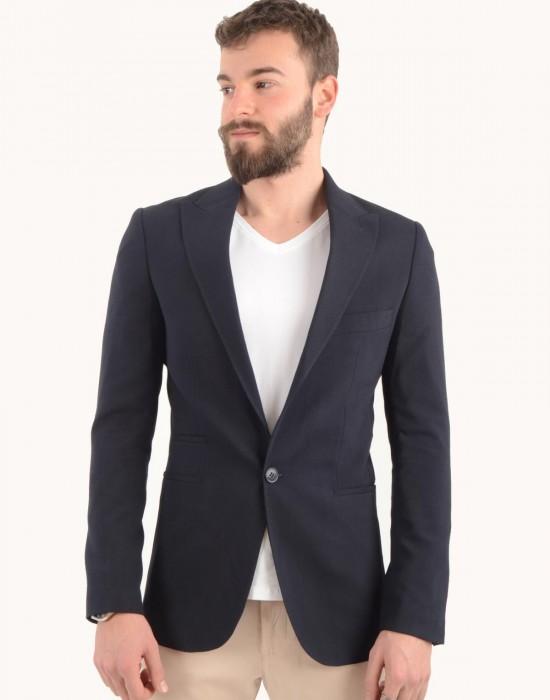 Blazer Lacivert Erkek Ceket Çanakkale