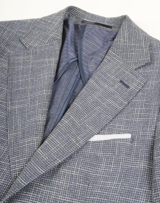 Melanj Blazer Lacivert Erkek Ceket